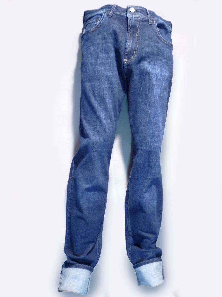 jeans x-tra long - denim bleu