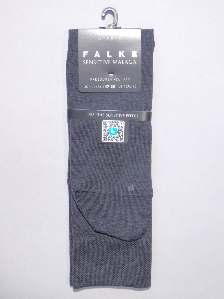 chaussettes anthracite