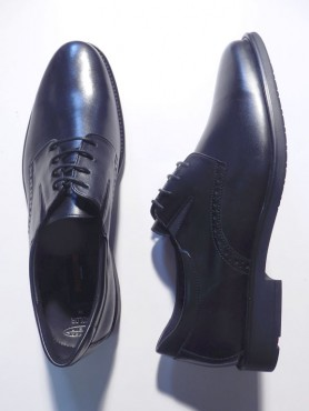 Chaussures KOLOR noires - pieds extra larges
