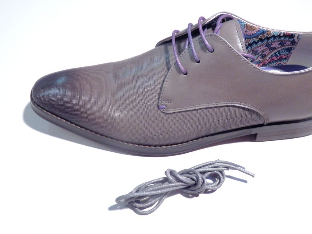 Chaussures Springfield gris fumé