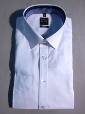 Chemise Level 5 - pinpoint blanc