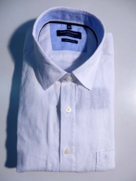 chemise lin blanc - Casual