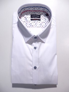 Chemise modern fit blanche