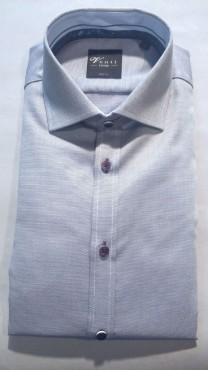 chemise pinpoint lilas
