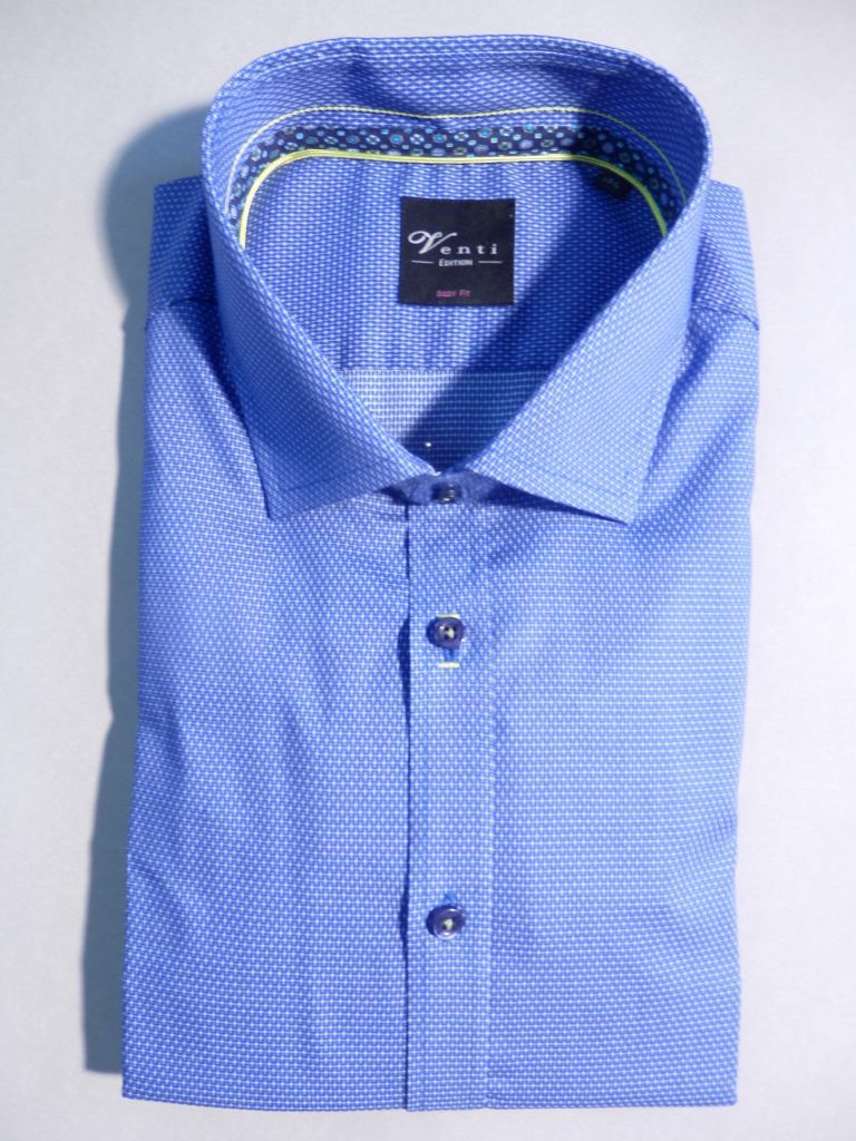 Chemise royal croix blanches
