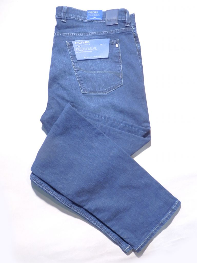 jeans denim bleu - stretch