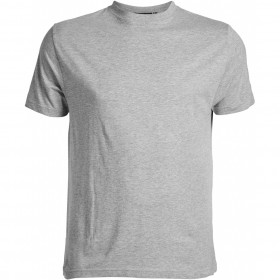 Lot de 2 T shirts gris chiné - ras de cou