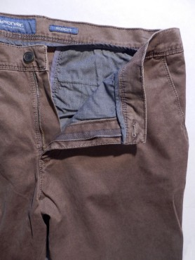 Pantalon camel à points