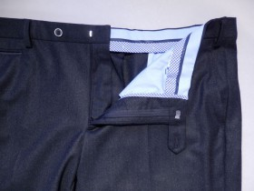 Pantalon city flanelle anthracite
