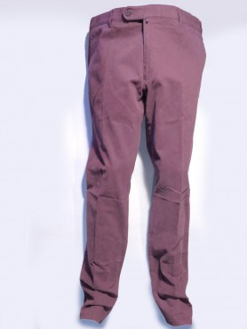 Pantalon lie de vin