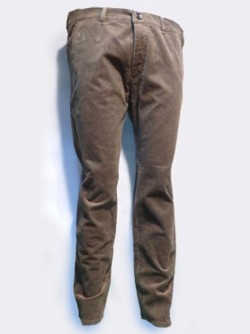 Pantalon velours bronze