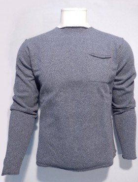 pull laine vierge anthracite