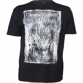 T shirt GAME OF THRONES - noir - ras de cou