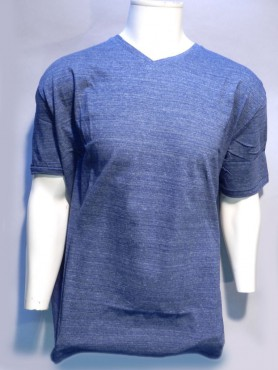 t-shirt indigo chiné
