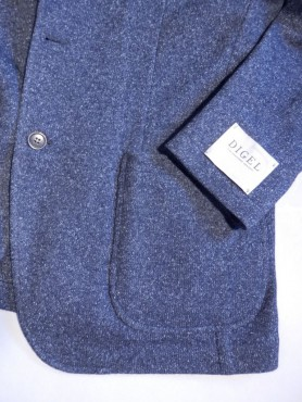veste city indigo chiné